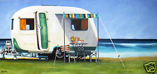 ART BEACH LANDSCAPE PAINTING CONTEMPORARY PRINT andy baker canvas