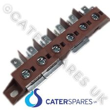 PARRY  HIGH TEMPERATURE HEAT RESISTANT TERMINAL 6 POLE CONNECTOR BLOCK TB6POLETB