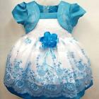 Baby Girl Flower Princess Tutu Dress Wedding Party Pageant Vintage Dresses B21