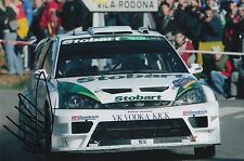 Matthew Wilson Hand Signed Stobart Ford Focus 9x6 Photo Rally 1.
