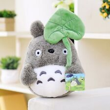 "New 9""/23cm My Neighbor Totoro Leaf Cute Soft Plush Toy Kid Birthday Xmas Gift A"