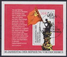 DDR Block 42 mit ESST Ersttag SST Berlin 30. Jahrestag der Befreiung 1975, used