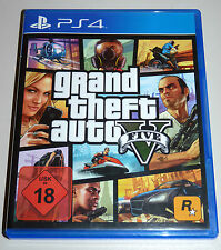 GRAND THEFT AUTO V (PlayStation 4) PS4 GTA 5 Five DEUTSCH
