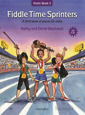 Fiddle Time Sprinters + CD: A Third Book of Pieces for Violin by Kathy Blackwell