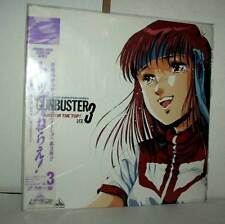 Gunbuster Top wo Nerae! (Aim for the Top!): vol.3 CAV LASER DISC USATO VBC 45685
