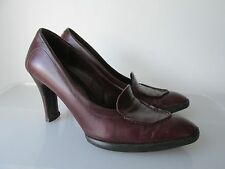 Authentic TOD'S Brown Loafer Heels Size 36 / 6