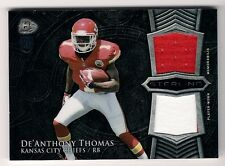 De'Anthony Thomas 2014 Bowman Sterling Rookie Dual Relic Card #BSRDR-DT