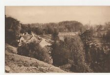 Looking Over Bibury Street Postcard, A789