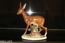 Fasold & Stauch Porzellan Figur  2 Reh Figuren
