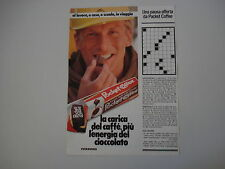 advertising Pubblicità 1981 FERRERO POCKET COFFEE