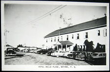 CANADA ~ 1940's MATANE P.Q. ~ HOTEL BELLE PLAGE ~ Real Photo PC  RPPC