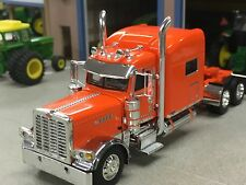 "1/64 DCP ORANGE 389 PETERBILT PRIDE IN CLASS W/ 70"" SLEEPER"