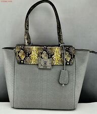 NWT GUESS Limited Handbag GUESS Satchel Large Angela Ladies Military Multi Bag