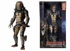 "NECA PREDATOR 2 City Hunter scala 1/4 20 ""POLLICI ACTION FIGURE W / Led Luci"