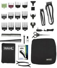 Hair Clipper Kit wireless Wahl Lithium Ion Cordless Scissors With Case Charger