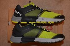 Reebok One Cushion 3.0 Men's Running Shoes Size 7.5 D, Yellow/Olive/Sage/St