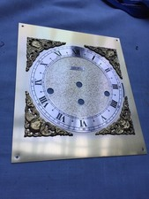 "Brass Face Seth Thomas Triple Chime Bracket Clock 8.75"" By 7.5"""
