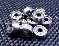 10PCS MR62ZZ (2x6x2.5mm) Metal Shielded PRECISION Ball Bearings Mini Bearings CF