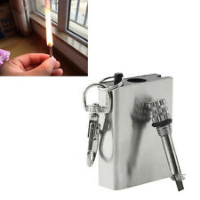 Hiking Fire Encendedor Everlasting Survival Match Emergency Fire Lighter Starter