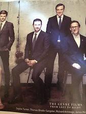 Richard Armitage impresionante Nuevo Retrato 2014 Hugh Jackman caliente! Nuevo Reino Revista