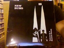 New Bums Voices in a Rented Room LP sealed vinyl Drag City