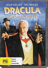 DRACULA DEAD & LOVING IT (1996 Leslie Nielsen) - DVD - UK Compatible