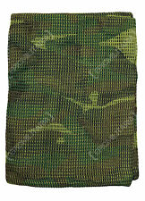 Camouflage NETTING SCARF - Colour Option - Hunting Army Camo Scrim Net Head Wrap