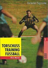 Torschuss Training Fussball  Rolf Mayer  Taschenbuch++Ungelesen ++
