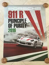 Porsche Factory Poster-2016 911 R | Two Different Posters