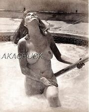 Nude Model Hot Tub Jaccuzzi SEPIA HENDRICKSON PHOTO Original Artist Studio D354