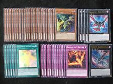YU-GI-OH 45 CARD RAIDRAPTOR DECK  *READY TO PLAY*