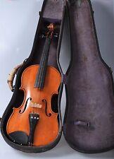 Alt Antik Uralte Geige Violin  Instrument  Koffer Tasche