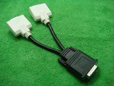 Genuine DELL DMS 59-PIN DVI (M) to 2 DVI (F) Y AV  SPLIT CABLE BizLink 0H9361