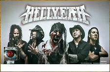 HELLYEAH Unden!able 2016 Ltd Ed New RARE Poster +FREE Metal Poster! Undeniable