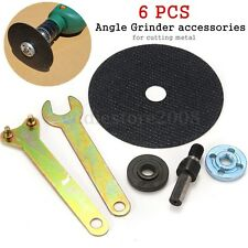 6pcs Hand Drill Variable Angle Grinder Accessories Saw Blades For Cutting Metal