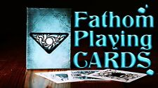 INVISIBLE FATHOM BICYCLE DECK OF PLAYING CARDS GAFF ELLUSIONIST MAGIC TRICKS