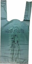 Messy Mutz Green Biodegradable Dog Poo Bags Poop Bag Pack of 50