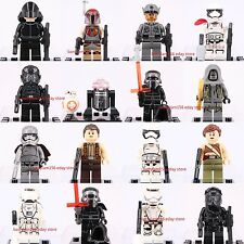 18pcs Star Wars 7 The Force Awake Kylo Ren BB-8 Mini Figure &  Brick 3002