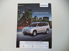 advertising Pubblicità 2004 SUZUKI GRAND VITARA XL.7