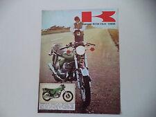 advertising Pubblicità 1973 MOTO KAWASAKI 500 MACH III H1 D
