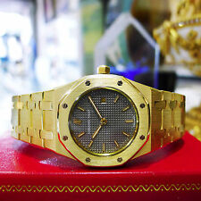 Audemars Piguet Royal Oak 18K Yellow Gold 31mm Grey Dial Watch Ref: C94711