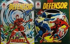 DAN DEFENSOR (DareDevil) Mundicomics Vértice Nºs 3 y 4 Año 1.981 Marvel 1.978