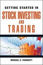Getting Started in Stock Investing and Trading-ExLibrary