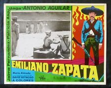 EMILIANO ZAPATA Antonio Aguilar ORIGINAL LOBBY CARD PHOTO N MINT 1970