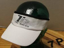 TRI RULES TRIATHLON VISOR BY HEADSWEATS WHITE IN EXCELLENT CONDITION OSFM