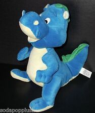 PLUSH APPEAL LLC Blue Yellow Green Dinosaur Dragon Stuffed Animal Lovey Soft Toy