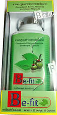 BE-FIT SENNA GARCINIA CAMBOGIA DIET SLIMMING HERBAL SUPPLEMENT (60 capsules)