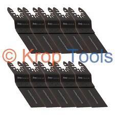 10 Multi Tool Blades Black & Decker DeWalt 35mm Standard Wood by KROP