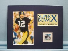 Pittsburgh Steelers win Super Bowl X honored by the Pittsburgh Steelers stamp