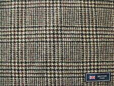 100% Pure New Wool Tweed Check Fabric 4.0 m